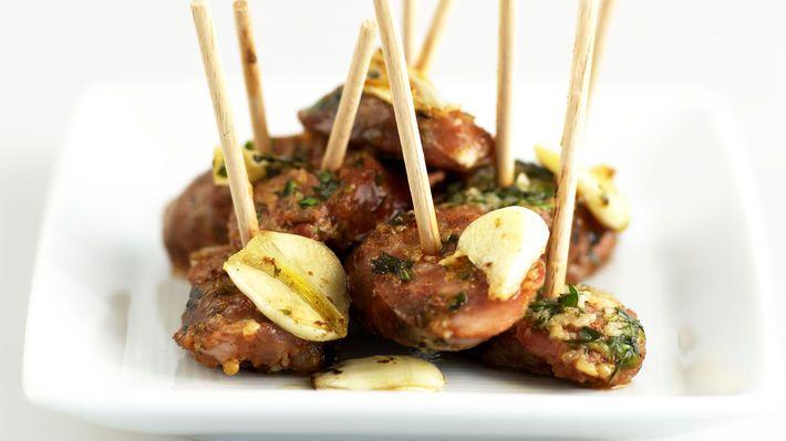 Stekt chorizo med persille - MatPrat