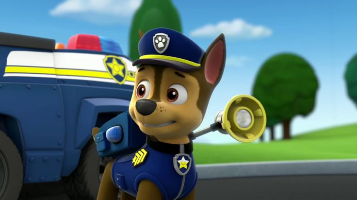 Chase Psi patrol - gry, puzzle. Paw Patrol jigsaws, puzzles, games