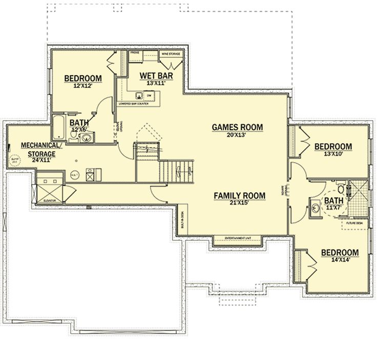 Best 25 prairie style homes ideas on pinterest prairie for Wheelchair accessible house plans with elevator