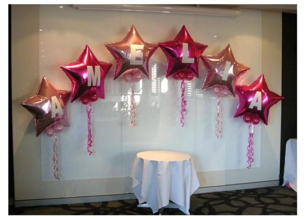 message on balloon arch | Christening idea | birthday idea