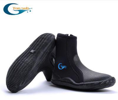 855. Профессиональные 5 мм не скользящие сапоги для дайвинга. Непромокаемая обувь для: мужчин, женщин, гидрокостюма, дайвинга, рыбалки, подводное плавание.