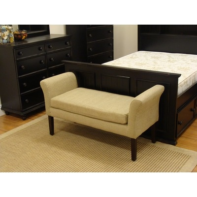 features bench type bedroom bench seat material fabric finish