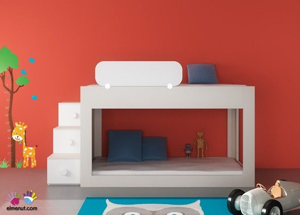 Dormitorio Infantil Con Litera Baja 074 006 Novedades De Mueble