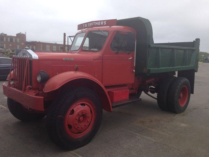 1950 Sterling Chain Drive Dump Truck For Sale Hemmings