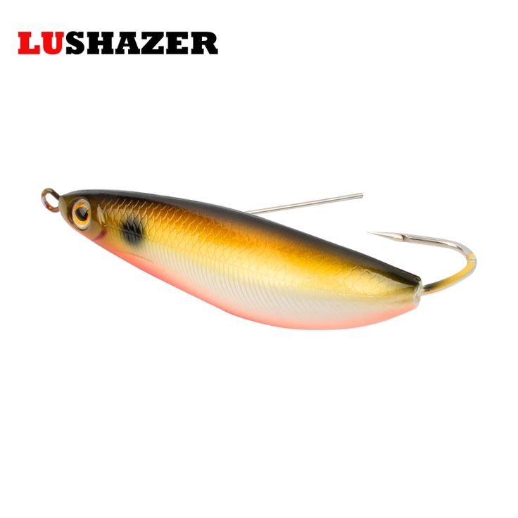 LUSHAZER Fish vib 20g hard bait iscas artificiais para pesca carp lures bass fishing jerkbait spoon bait fishing tackles free shipping worldwide