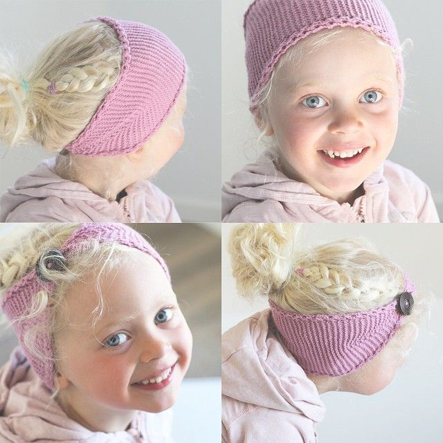 SnapWidget | Josefine-hårbånd kan brukes på flere måter :) #klompelompe #josefinehårbånd #vårogsommerhefte