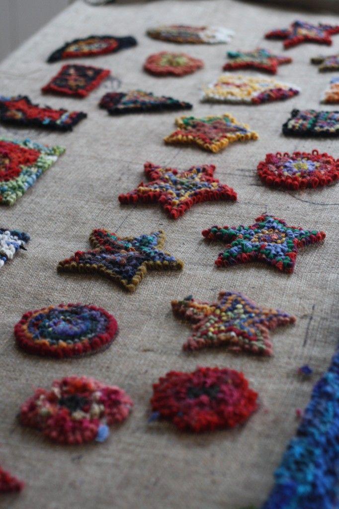 rug hooking how to begin