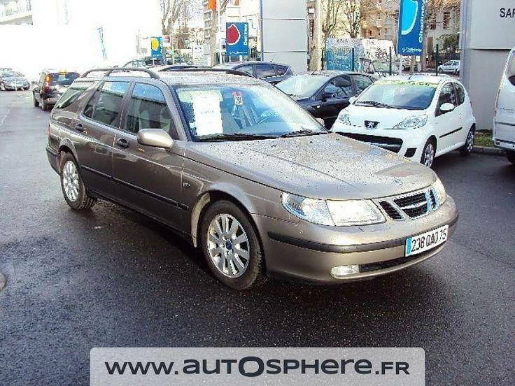 L'occasion du jour est un déménageur suédois au meilleur prix! Seulement 5990€ pour cette Saab #9-5 Break 2.2 TiD Linear de 2002 avec 134825 kms. L'originalité à bon marché ! À Paris.