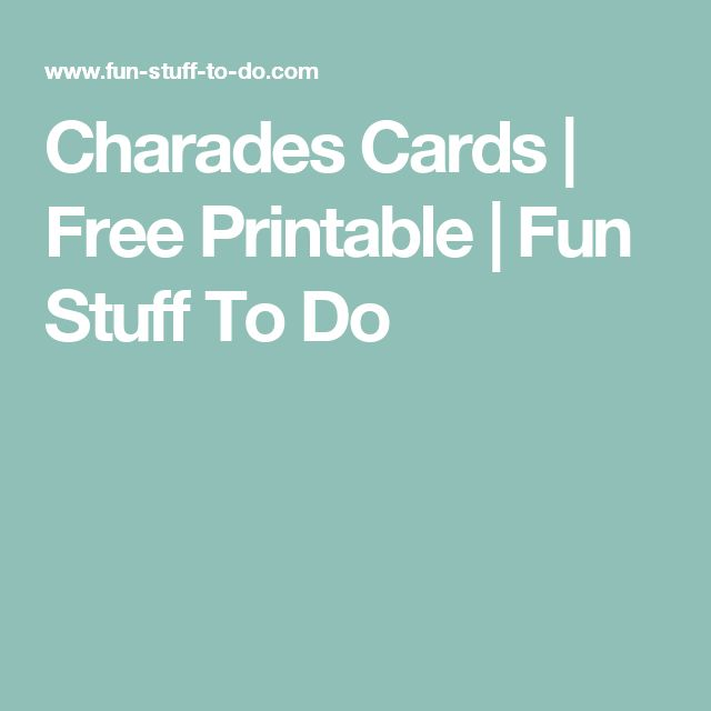 Best 25+ Charades word list ideas on Pinterest Words for - another word for to do list