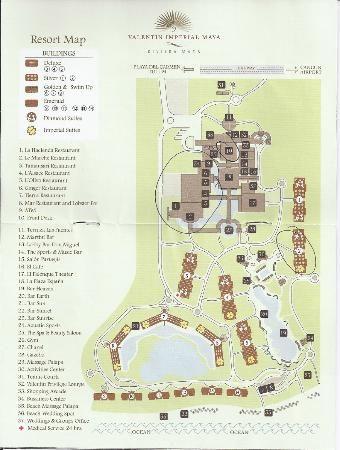 Valentin IMperial Maya room locations