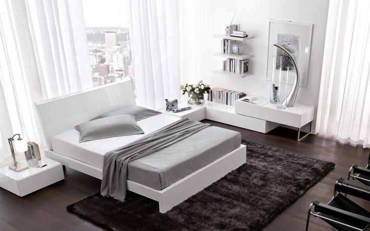 Santa Lucia.   #mobiliriccelli #riccelli #arredamento #mobili #arredo #furniture #bedroom #bed #camera #letto #indoor #interior #design #casa #home #madeinitaly #cameradaletto #santalucia #white