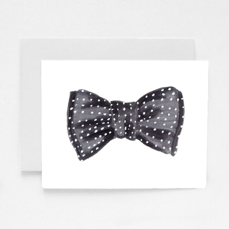 Hand*Some Greeting Card by Social Proper: Social Proper, Bows Ties, Bows Ti Markers,  Bowties, Hands Som Greeting, Dots Bows, Greeting Cards, Bowties Greeting, Bows Art
