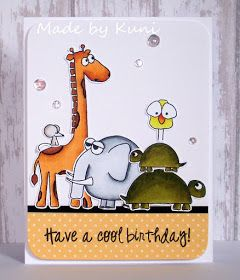 Kunis Bastelblog: und noch mehr Tierchen.... sss stacking animals stamp set.