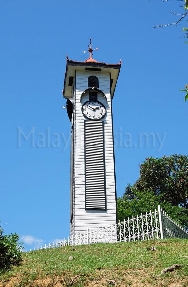 Atkinson Clock Tower in Kota Kinabalu city, Sabah.