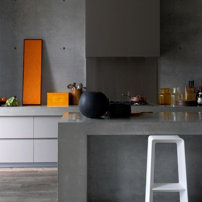 kitchen from a house in sorrento victoria australia by rob mills architects