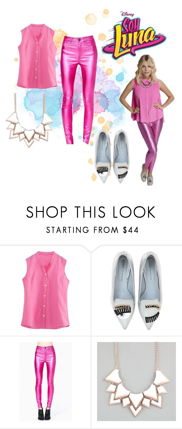 """soy luna"" by maria-look on Polyvore featuring Chiara Ferragni and Full Tilt"