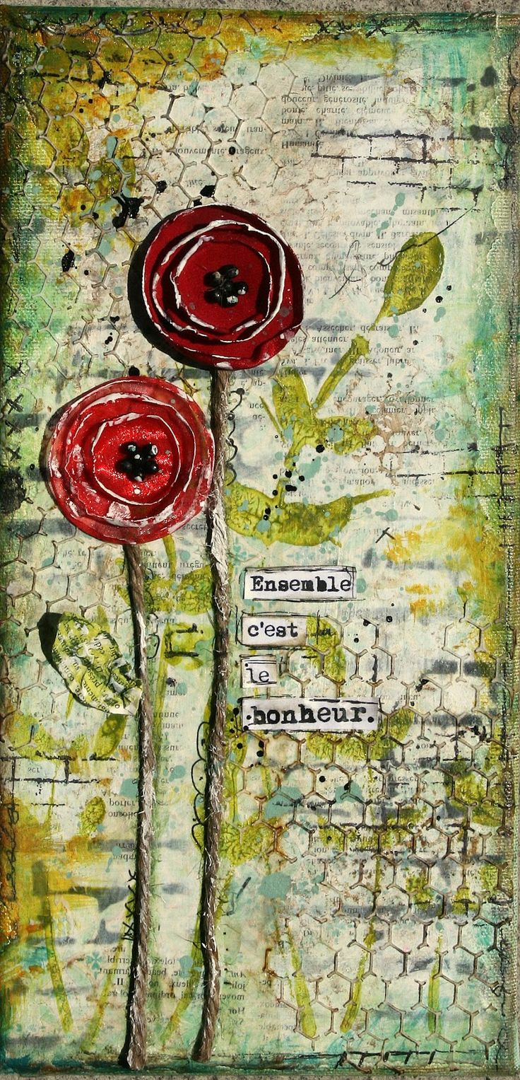 The Best Art Journaling | LOVE THE BACKGROUND | ART JOURNAL-PAGES 2