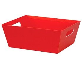 """Large Market Tray Red 12"""" x  9½'' x 3½""""-59004"""