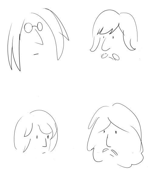 John lennon style beatles by SilentCartoonist                                                                                                                                                     More