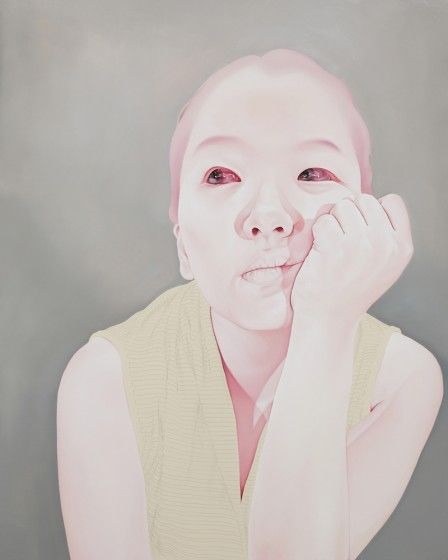 Sungsoo Kim,Melancholy, 2010-2011, Oil, acrylic on canvas