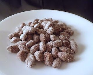 """Low Carb """"Puppy Chow"""" Almonds (and no it's not dog food).  It's not too late to enter the FREE Swerve Sweetener Giveaway!!!"""