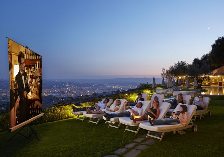 A unique evening under the stars with a family-friendly outdoor cinema experience