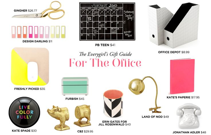 The Everygirl Holiday Gift Guide // for the office // ideas under $50