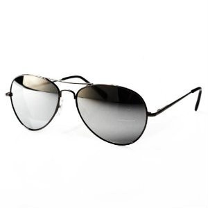 Private Island Party  - Silver Frame and Black Lens Aviator Sunglasses 1111, $2.40 - $2.99   You are looking for a sleek pair of wayfarers with a modern twist than you need to take a look at our silver framed glasses with black lens. These shades are super cool and ultra trendy, don't miss out on getting your pair today.