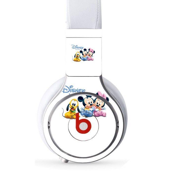 Disnep Cartoon decal for Monster Beats Pro wireless headphones