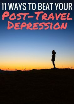 Some great tips here for overcoming the post-travel blues!