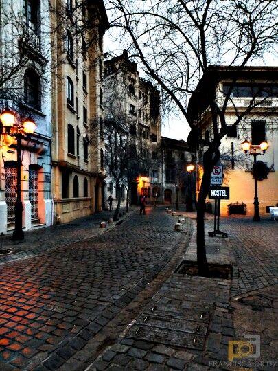 """""""Calles de londres"""" santiago, chile."""