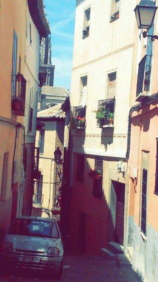 Una calle en Toledo