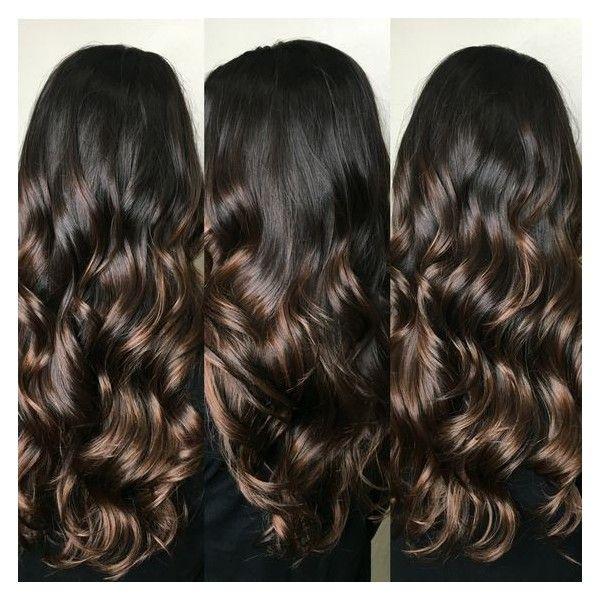 Bayalage highlights #brunette