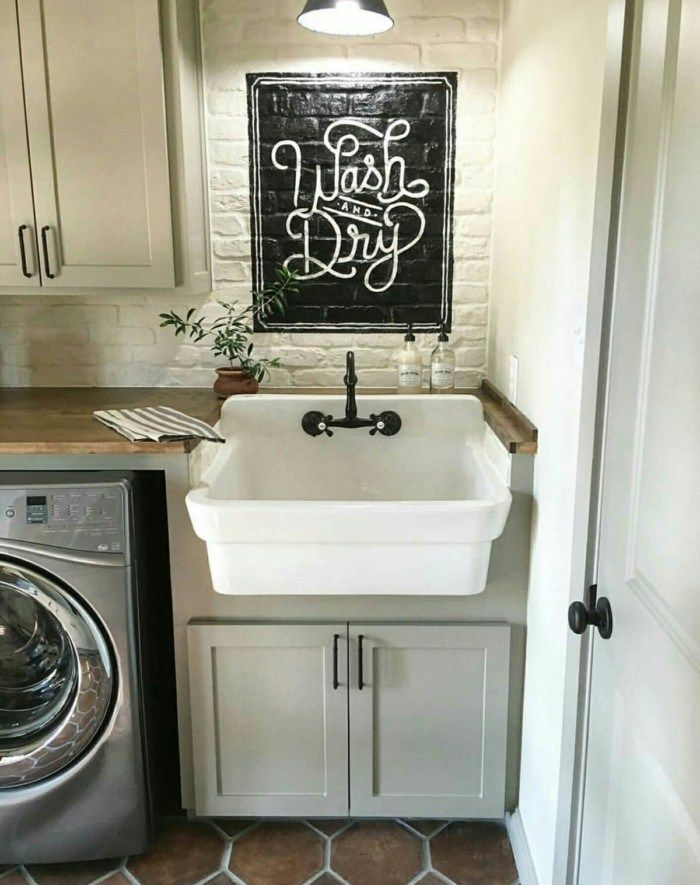 The Most Popular New Vintage Laundry Room Decor Ideas There S