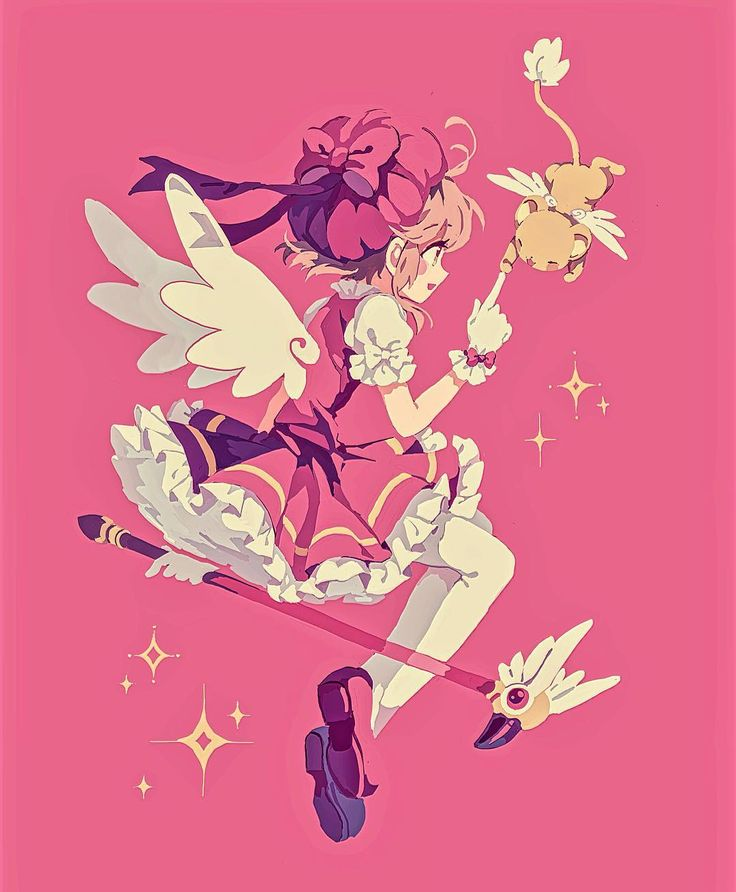 """You will definitely be alright!""  Another print idea dedicated to my most beloved daughter! (...because I missed her birthday. //hits self) #cardcaptorsakura #sakurakinomoto"