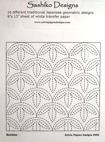 Sashiko Designs and Transfer Paper