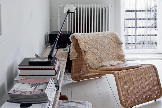 Danish designer Naja Lauf's home