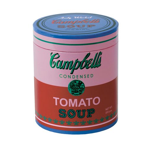 Andy Warhol Soup Can Pink 200-Piece Puzzle now at the Shop at AGH at the Art Gallery of Hamilton.