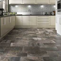 This beautiful porcelain tile has dramatic color variation and depth for a realistic and breathtaking design!  Available now at Custom Home with fast shipping, unbeatable prices, and quick - quality installation!  Daltile Porada