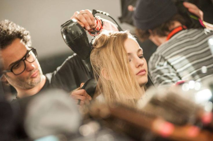 Blumarine Fall Winter 2015/2016 Fashion Show Backstage #mfw