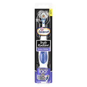 ARM & HAMMER Spinbrush Truly Radiant Extra White Battery Toothbrush