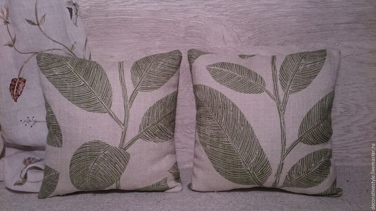 Купить Подушки декоративные. Подушки льняные. - подушки декоративные, Подушки, подушки на диван, подушки на заказ