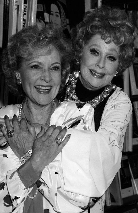 Lucille Ball & Betty White