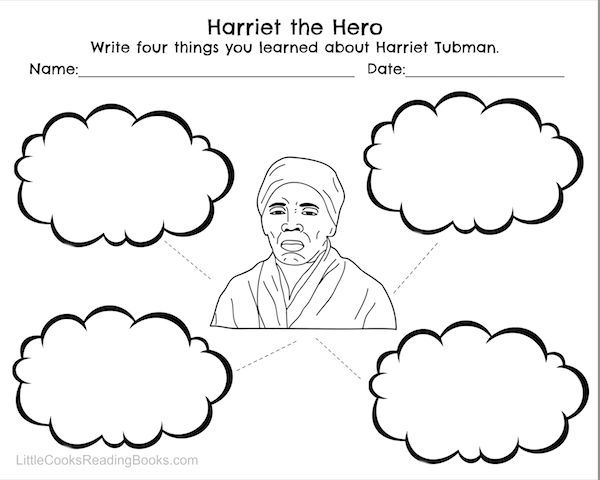 Harriet Tubman and Underground Railroad Free Printables