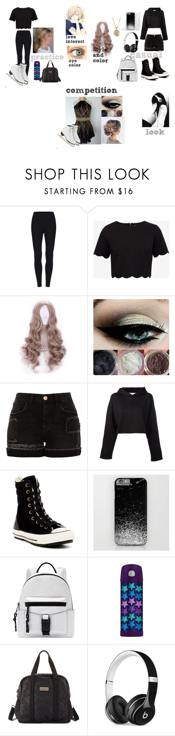 """Yuri on ice OC - Polyvore"" by darkness-huntress on Polyvore featuring Ted Baker, River Island, Golden Goose, Converse, Nine West, Thermos, adidas, Beats by Dr. Dre, 2028 y country"