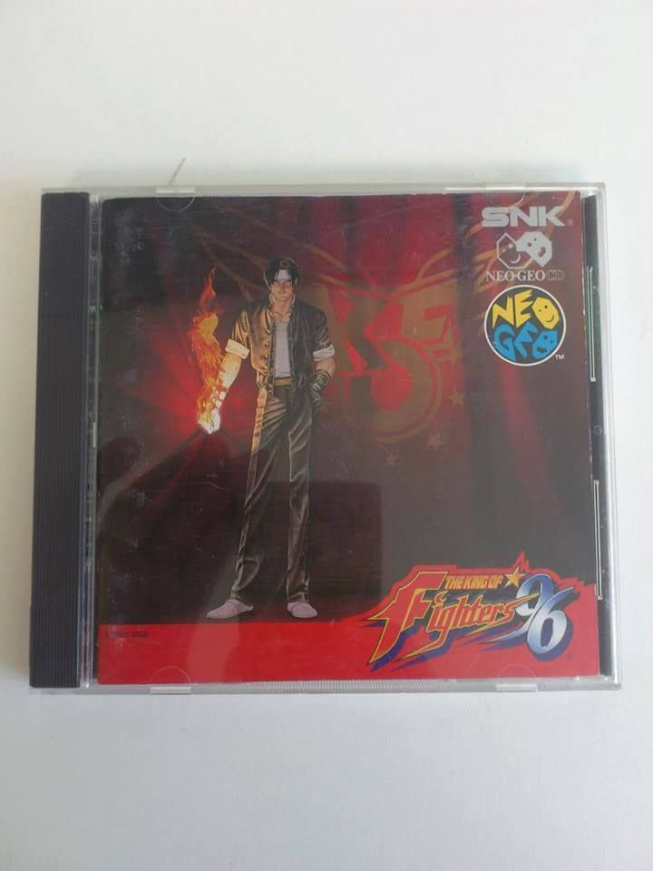 The King of Fighter 96 Neo Geo CD