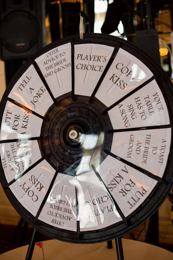 """Kissing Game - DIY wheel - TOTALLY doing this instead of """"clicking of glasses"""". I would change the wording of the pie pieces"""