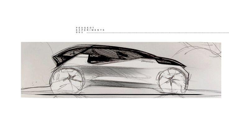 Peugeot Experiments on Behance