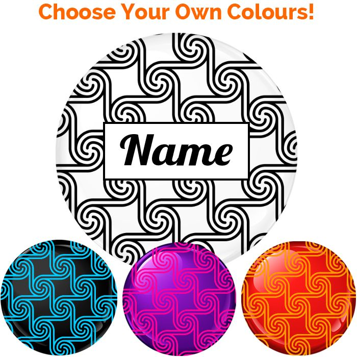 Name Badge - Create Your Own #019 - 75mm