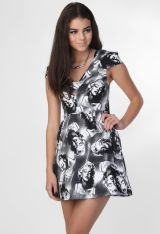 Paper Hearts Marilyn Monroe Dress